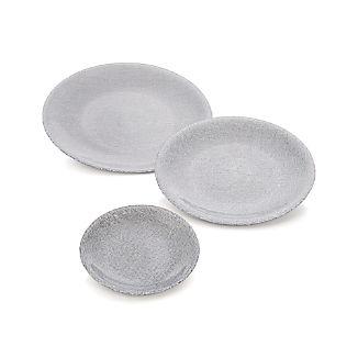Shimmer Silver Dinnerware
