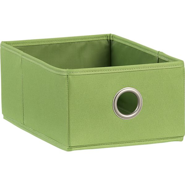 Green Shoe Bag Drawer