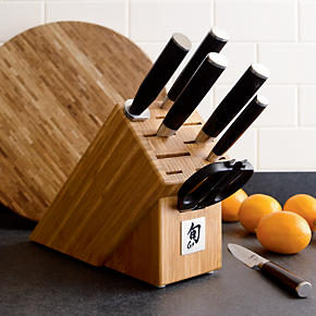 Shun® Classic 8-Piece Knife Block Set