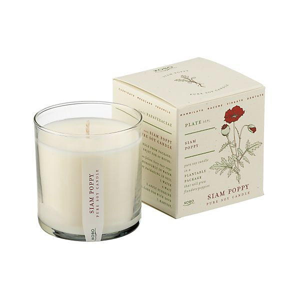 Siam Poppy Scented Candle