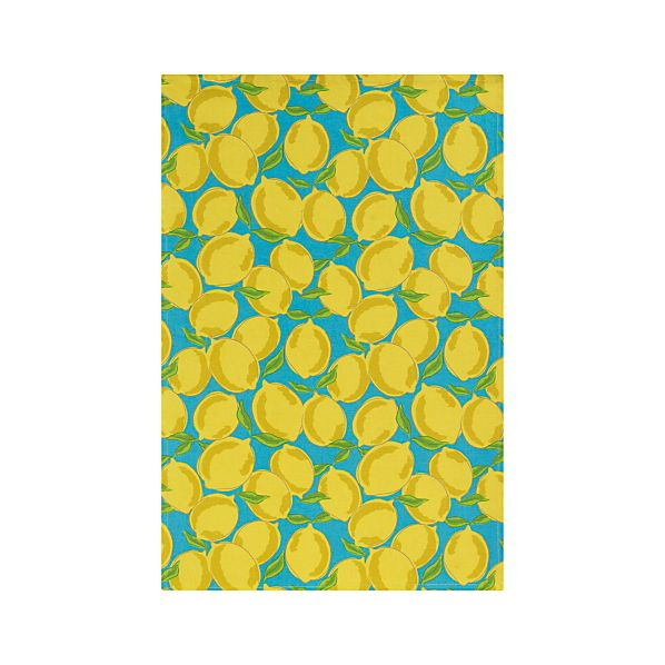 Sicilian Lemon Dishtowel