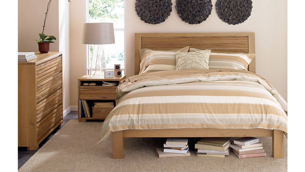 crate and barrel bedroom sets