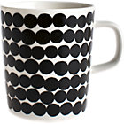 Black and White Mug. 8 oz.