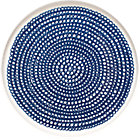 Blue and White Plate. 8&amp;quot; dia.