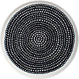 Marimekko Siirtolapuutarha Black and White 8&quot; Plate