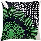 Marimekko Siirtolapuutarha Green 20&quot; Pillow