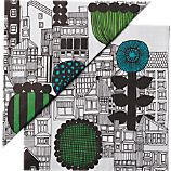 Set of 20 Marimekko Siirtolapuutarha Paper 6.5&quot; Napkins