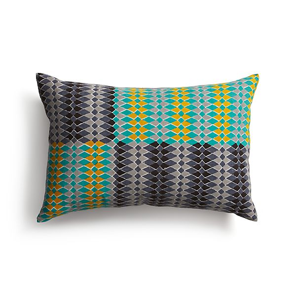"Sikina 18""x12"" Pillow"