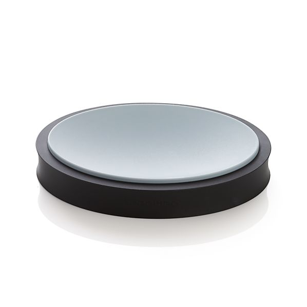 Silicone Black Spoon Rest
