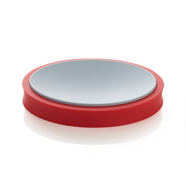 Silicone Red Spoon Rest