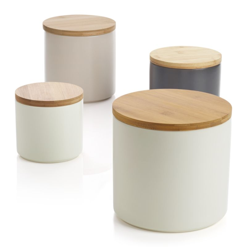 silo canisters crate and barrel