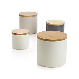 Silo Canisters Set of Four