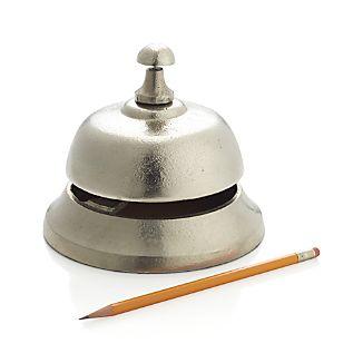 Silver Desk Bell
