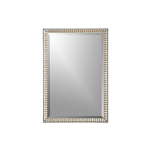 Silver Ripple Wall Mirror