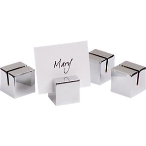 Placecard Holders Set of Four