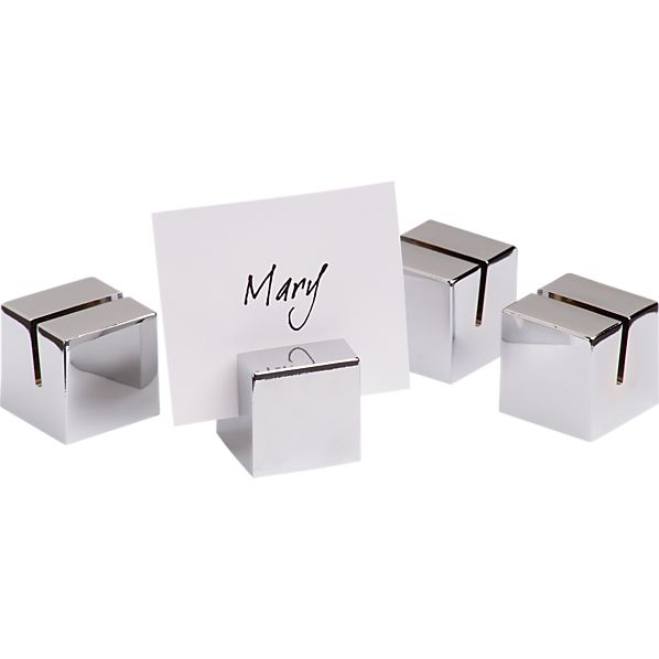 Set of 4 Placecard Holders
