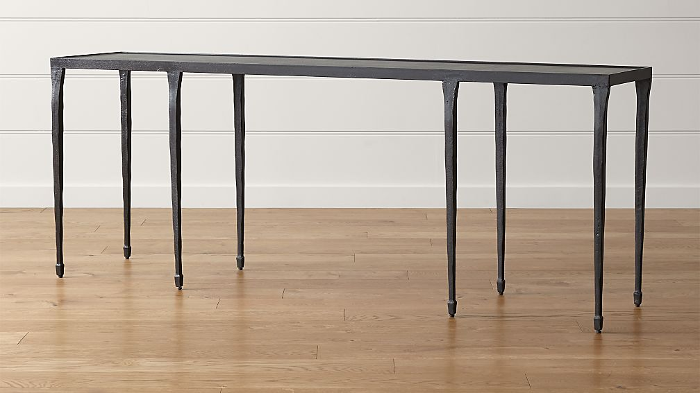 Silviano Console Table in Coffee Tables u0026 Side Tables : Crate and Barrel
