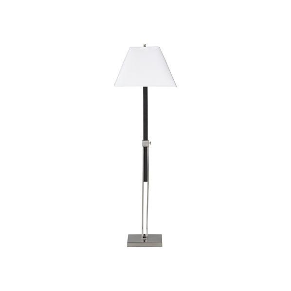 Simon Brushed Nickel Floor Lamp