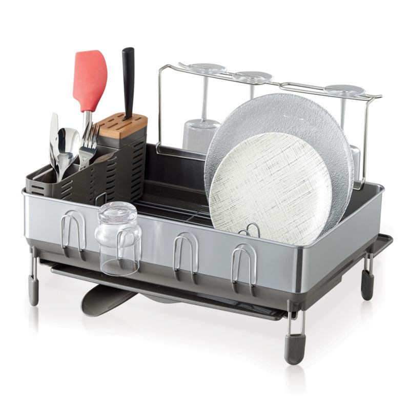 Simplehuman Dish Rack Deluxe Crate And Barrel