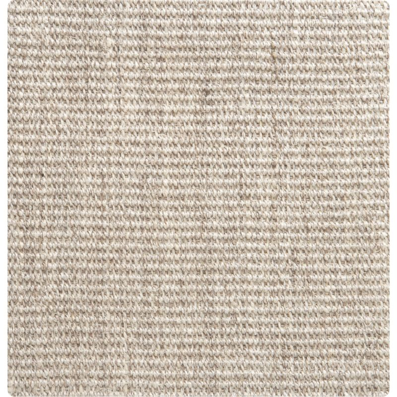 Sisal Linen 12 Sq Rug Swatch Crate And Barrel
