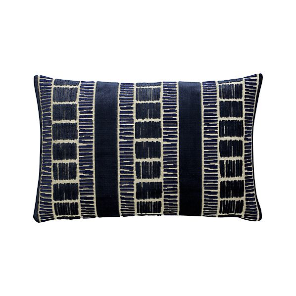 Skip 20x13 Pillow with Feather-Down Insert