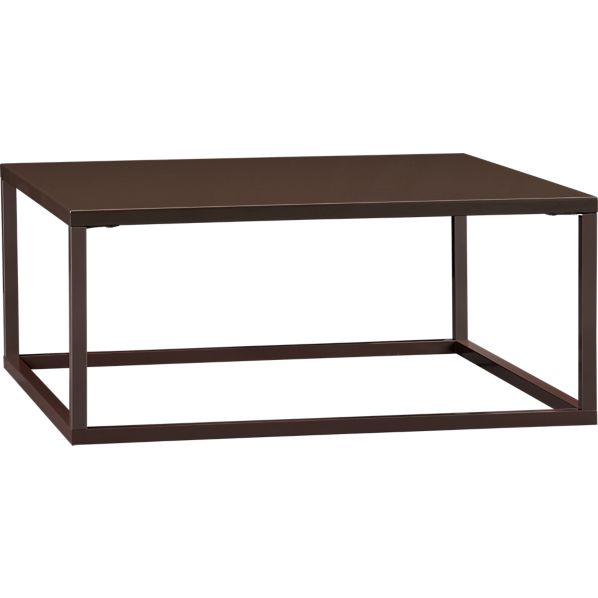 Skye Cocoa Square Coffee Table