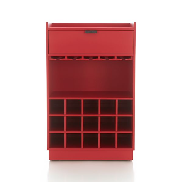 Skyler Red Rolling Bar