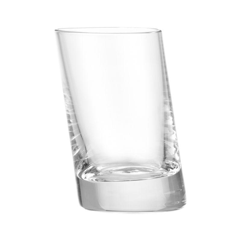 Slant 2 Oz Shot Glass Crate And Barrel
