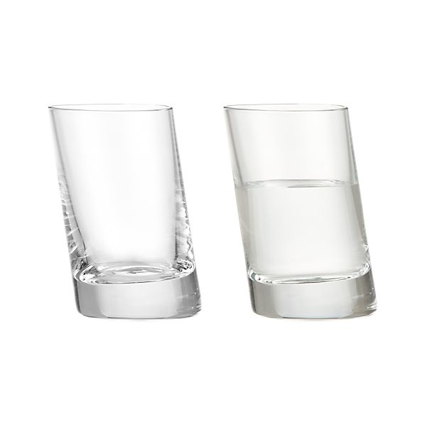 Slant Shot Glass