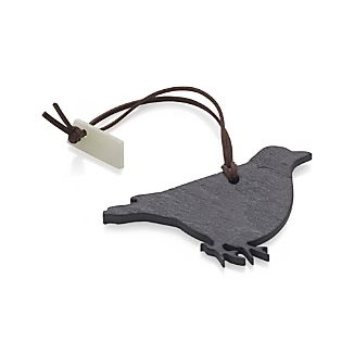 Slate Bird Bottle Tag