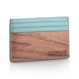 Slim Mint Card Wallet
