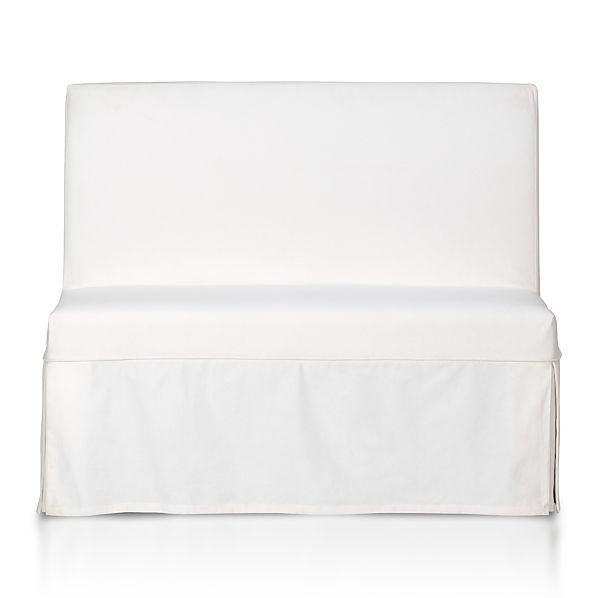 White Slipcover for Slip Bench