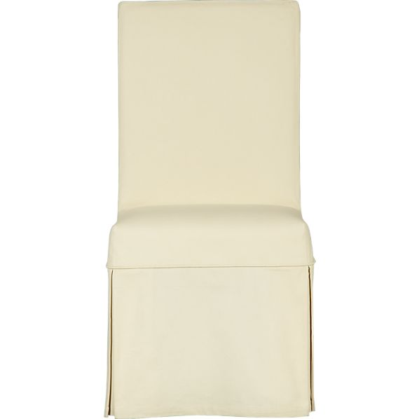 Buttercream Slipcover for Slip Side Chair