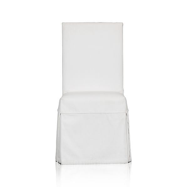 White Slipcover for Slip Side Chair