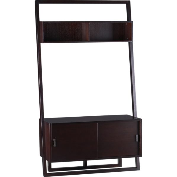 "Sloane Espresso 43.75"" Leaning Media Stand"