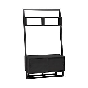 "Sloane Grey 43.75"" Leaning Media Stand"