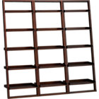 "Sloane Java 25.5"" Leaning Bookcase Set of Three."