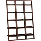 "Sloane Java 18"" Leaning Bookcase Set of Three."