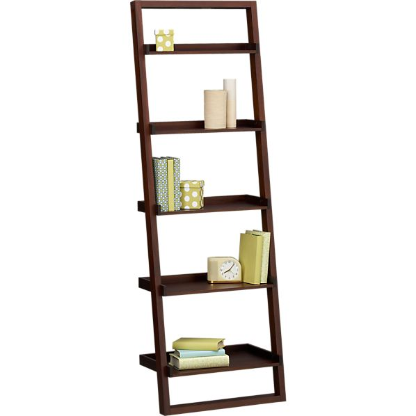 Crate And Barrel Leaning Bookshelf 28 Images Crate