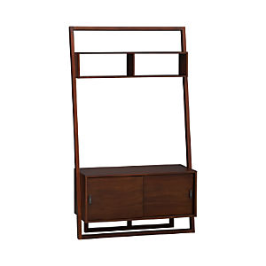 "Sloane Java 43.75"" Leaning Media Stand"
