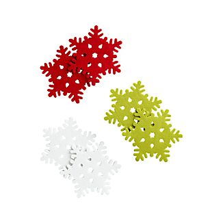 Set of 6 Snowflake Coasters
