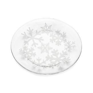 Snowflake Salad Plate