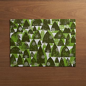 Snowy Forest Placemat