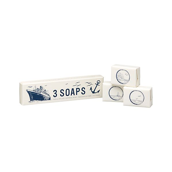 Set of 3 Maritime Soaps