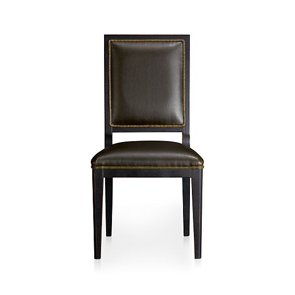 Sonata Leather Side Chair
