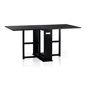 Span Black Gateleg Table