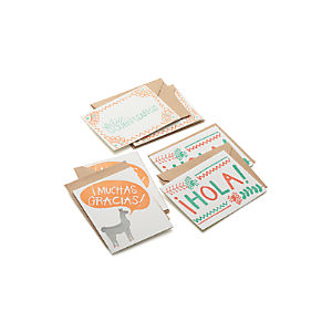 Spanish Cards Set of Six