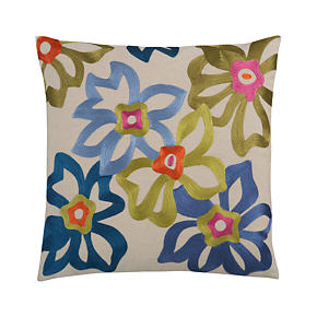 Spanish Flower 20 Pillow