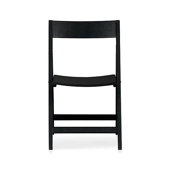Spare Black Folding Chair