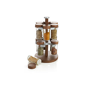 12 Bottle Revolving Spice Rack